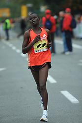 Georgina Rono (Ken) v cilju na 13. Ljubljanskem maratonu po ulicah Ljubljane, 26. oktobra 2008, Ljubljana, Slovenija. (Photo by Vid Ponikvar / Sportal Images)./ Sportida)
