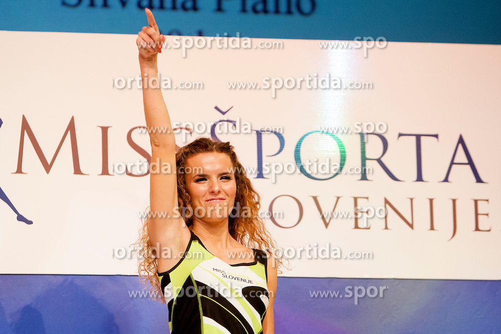 Silvana Piano during event Miss Sports of Slovenia 2013, on April 20, 2013, in Festivalna dvorana, Ljubljana, Slovenia. (Photo by Urban Urbanc / Sportida.com)