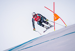27.01.2019, Streif, Kitzbühel, AUT, FIS Weltcup Ski Alpin, SuperG, Herren, im Bild Dustin Cook (CAN) // Dustin Cook of Canada in action during his run in the men's Super-G of FIS ski alpine world cup at the Streif in Kitzbühel, Austria on 2019/01/27. EXPA Pictures © 2019, PhotoCredit: EXPA/ Johann Groder