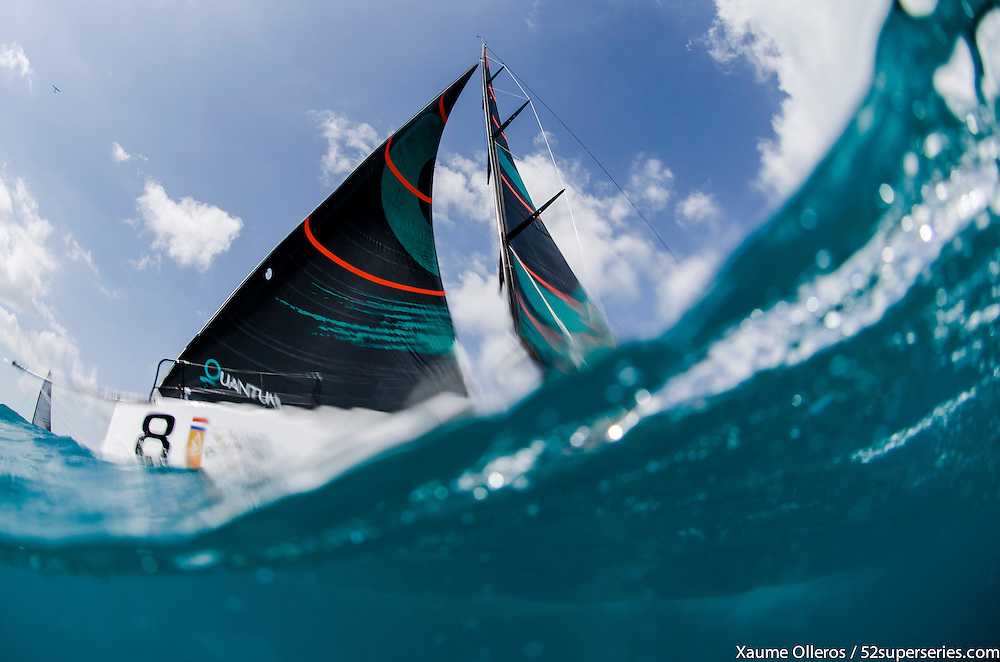 MIAMI, USA - MARCH 9: Day five of the Gaastra World Championship of 52 Super Series on March 9th, 2013 in Miami, USA. Photo by Xaume Olleros / 52 Super Series