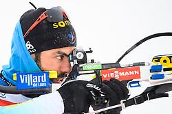 March 8, 2019 - –Stersund, Sweden - 190308 Simon Fourcade of France at the men's training session during the IBU World Championships Biathlon on March 8, 2019 in Östersund..Photo: Petter Arvidson / BILDBYRÃ…N / kod PA / 92246 (Credit Image: © Petter Arvidson/Bildbyran via ZUMA Press)