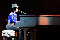 "© Licensed to London News Pictures. 30/05/2013. London, UK.   Alicia Keys performing live at The O2 Arena.  Alicia Keys is an American pianist, R&B singer-songwriter,musician,record producer and actress. She is touring to promote her fifth studio album ""Girl on Fire"". Photo credit : Richard Isaac/LNP"