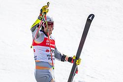 02.03.2020, Hannes Trinkl Weltcupstrecke, Hinterstoder, AUT, FIS Weltcup Ski Alpin, Riesenslalom, Herren, 2. Lauf, im Bild Aleksander Aamodt Kilde (NOR) // Aleksander Aamodt Kilde of Norway reacts after his 2nd run of men's Giant Slalom of FIS ski alpine world cup at the Hannes Trinkl Weltcupstrecke in Hinterstoder, Austria on 2020/03/02. EXPA Pictures © 2020, PhotoCredit: EXPA/ Johann Groder