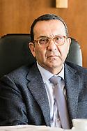 Potenza, Basilicata, Italia, 19/05/2016.<br /> Lanfranco Vetrone, presidente del Tribunale di Potenza<br /> <br /> Potenza, Basilicata, Italy, 19/05/2016<br /> Lanfranco Vetrone, president of courthouse in Potenza