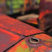 Missing Radiator Cap - Motor Transport Museum - Campo, CA - Lensbaby
