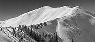 Highland Bowl at Aspen Highlands ski resort in Aspen, Colorado.