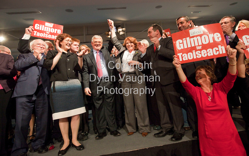 29/11/2008.Eamon Gilmore TD, Labour Party leader pictured at the Labour Party conference at Hotel Kilkenny over the weekend..Picture Dylan Vaughan.