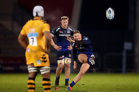 Rugby Union - 2019 / 2020 Gallagher Premiership - Sale Sharks vs. Wasps <br /> <br /> Rob Du Preez of Sale Sharks kicks a penalty, at AJ Bell Stadium,<br /> <br /> COLORSPORT/PAUL GREENWOOD