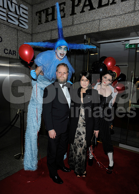 Paul Smith and Nicola Stephenson attend the Odd Ball at the Royal Garden Hotel in London, UK. 29/11/2014<br />BYLINE MUST READ : GOTCHAIMAGES.COM<br /><br />Copyright by &copy; Gotcha Images Ltd. All rights reserved.<br />Usage of this image is conditional upon the acceptance <br />of Gotcha Images Ltd, terms and conditions available at<br />www.gotchaimages.com