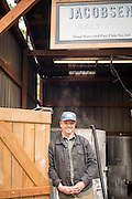 Ben Jacobsen of Jacobsen Salt in Netarts, Oregon