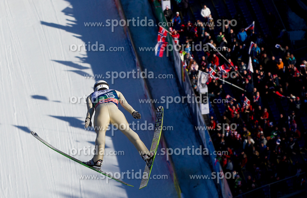 ELVERUM SORSELL Kim Rene during the Flying Hill Individual Competition at 2nd day of FIS Ski Jumping World Cup Finals Planica 2013, on March 22, 2012, in Planica, Slovenia. (Photo by Vid Ponikvar / Sportida.com)