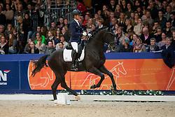 Cornelissen Adelinde, (NED), Governor<br /> Dressuur Klasse L<br /> KWPN Hengstenkeuring - 's Hertogenbosch 2016<br /> © Hippo Foto - Dirk Caremans<br /> 05/02/16