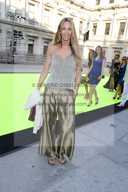 LISA BUTCHER at the preview party for The Royal Academy Of Arts Summer Exhibition 2013 at Royal Academy of Arts, London on 5th June 2013.