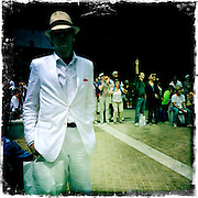 Roland Garros. Paris, France. May 31st 2012.Place des Mousquetaires.