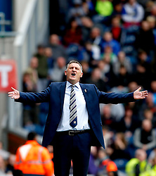 Blackburn Rovers manager Tony Mowbray shows a look of dejection - Mandatory by-line: Matt McNulty/JMP - 29/04/2017 - FOOTBALL - Ewood Park - Blackburn, England - Blackburn Rovers v Aston Villa - Sky Bet Championship