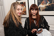 DAISY DE VILLENEUVE; REBEKAH ROY, Book launch for Isabella Blow- A Life in Fashion. Book by Lauren Goldstein Crowe. Henrietta St. London. 23 February 2011. -DO NOT ARCHIVE-© Copyright Photograph by Dafydd Jones. 248 Clapham Rd. London SW9 0PZ. Tel 0207 820 0771. www.dafjones.com.