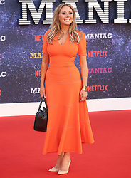 September 16, 2018 - London, England, United Kingdom - 9/13/18.Carol Vorderman at the Netflix Television series premiere of ''Maniac''..(London, England, UK) (Credit Image: © Starmax/Newscom via ZUMA Press)