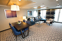 Royal Caribbean International launches Quantum of the Seas, the newest ship in the fleet, in November 2014<br /> <br /> Owners loft suite with virtual balcony.