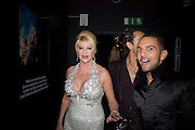 IVANA TRUMP AND MOHIEB, Patti and Andy Wong  host a night of Surrealism to Celebrate the Chinese Year of the Rat. County Hall Gallery and Dali Universe. London. 27 January 2008. -DO NOT ARCHIVE-© Copyright Photograph by Dafydd Jones. 248 Clapham Rd. London SW9 0PZ. Tel 0207 820 0771. www.dafjones.com.