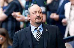 Newcastle United manager Rafael Benitez during the Premier League match at the Etihad Stadium, Manchester.
