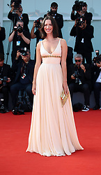 Rebecca Hall attend the 'First Reformed' red carpet during the 74th Venice Film Festival in Venice, Italy, on August 31, 2017. (Photo by Matteo Chinellato/NurPhoto/Sipa USA)