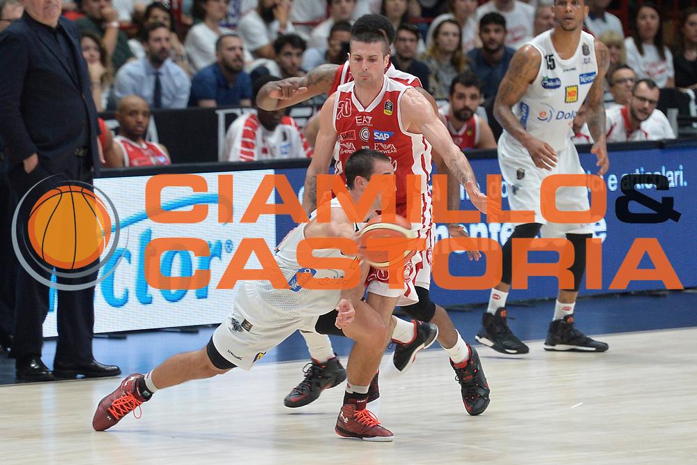 Craft Aaron<br /> Olimpia EA7 Emporio Armani Milano vs Dolomiti Energia Trentino<br /> Lega A  2016/2017  Semifinale Gara 1<br /> Milano 25/05/2017<br /> Foto Ciamillo-Castoria/I.Mancini<br /> Provvisorio