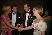 Emily Maitlis, Mark Foster-Brown, Paul arengo-Turner and HRH The Countess of Wessex, . The Blush Ball, Natural History Museum, London<br />