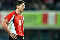 ◊Copyright:<br />GEPA pictures<br />◊Photographer:<br />Helmut Fohringer<br />◊Name:<br />Kuehbauer<br />◊Rubric:<br />Sport<br />◊Type:<br />Fussball<br />◊Event:<br />OEFB, WM Qualifikation, Laenderspiel, Oesterreich vs Polen, AUT vs POL<br />◊Site:<br />Wien, Austria<br />◊Date:<br />09/10/04<br />◊Description:<br />Dietmar Kuehbauer (AUT)<br />◊Archive:<br />DCSFH-091004517<br />◊RegDate:<br />09.10.2004<br />◊Note:<br />8 MB - BK/WU