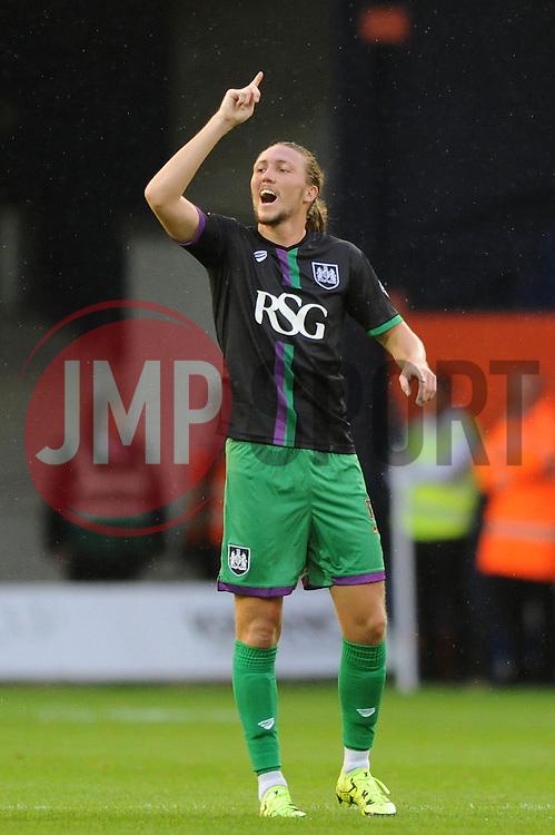 Luke Ayling of Bristol City - Mandatory byline: Dougie Allward/JMP - 07966386802 - 11/08/2015 - FOOTBALL - Kenilworth Road -Luton,England - Luton Town v Bristol City - Capital One Cup - First Round