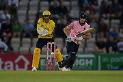 John Simpson of Middlesex batting during the Vitality T20 Blast South Group match between Hampshire County Cricket Club and Middlesex County Cricket Club at the Ageas Bowl, Southampton, United Kingdom on 20 July 2018. Picture by Dave Vokes.