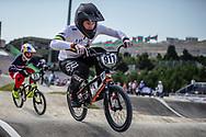 Men Elite #917 (HUGHES Andrew) AUS the 2018 UCI BMX World Championships in Baku, Azerbaijan.