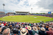 Picture by Allan McKenzie/SWpix.com - 19/05/2019 - Sport - Cricket - 5th Royal London One Day International - England v Pakistan - Emerald Headingley Cricket Ground, Leeds, England - A general view (GV) of England playing Pakistan at Emerald Headingley.
