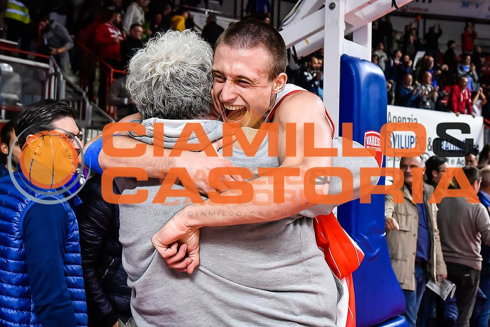 Aleksa Avramovic <br /> Pallacanestro Varese - Pasta Reggia Juve Caserta<br /> Basket serie A 2016/2017<br /> Varese 09/10/2016<br /> Foto Ciamillo-Castoria