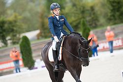 Krijnsen Lotte, (NED), Rosenstolz<br /> Grade III Team Test<br /> Para-Dressage FEI European Championships Deauville 2015<br /> © Hippo Foto - Jon Stroud<br /> 18/09/15