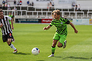 Forest Green Rovers George Williams(11) runs forward during the Pre-Season Friendly match between Bath City and Forest Green Rovers at Twerton Park, Bath, United Kingdom on 27 July 2019.
