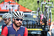 Bradley Wiggins with his own team Wiggins - The London-Surrey Classic professional race. Prudential RideLondon a festival of cycling, with more than 95,000 cyclists, including some of the world's top professionals, participating in five separate events over the weekend of 1-2 August.