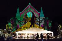 Lumenocity in Cincinnati's Washington Park at Music Hall