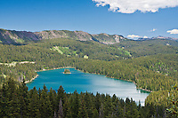 Island Lake of the Land O'Lakes Area on the Grand Mesa, Colorado.
