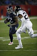 Tennessee Titans running back Derrick Henry (22) in action during the week 14 regular season NFL football game against the Jacksonville Jaguars on Thursday, Dec. 6, 2018 in Nashville, Tenn. The Titans won the game 30-9. (©Paul Anthony Spinelli)