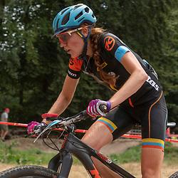 22-07-2018: Mountainbike: NK Mounainbike: Apeldoorn<br /> Lotte Koopmans