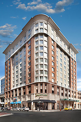 Marriott Courtyard hotel 1000_Aliceanna_Baltimore Maryland Exterior_Front