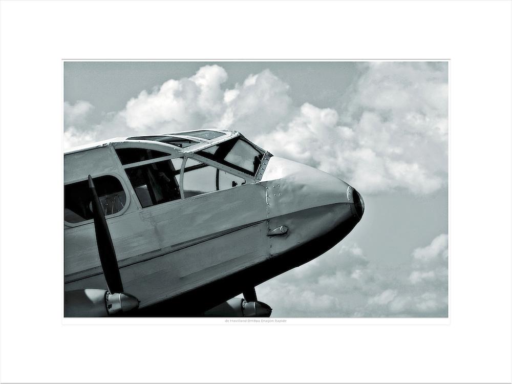 &quot;de Havilland DH89a Dragon Rapide&quot;<br /> Format: 80x60cm<br /> Print: Museum Etching<br /> Limited edition: 25