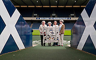 Great Tapestry of Scotland.  Meeting the Mascots group at Murrayfield for the birth of Scottish Rugby Panel<br /> picture by Alex Hewitt<br /> alex.hewitt@gmail.com<br /> 07789 871 540