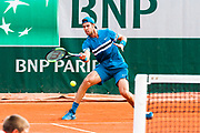 Karen Khachanov (rus) during the Roland Garros French Tennis Open 2018, day 4, on May 30, 2018, at the Roland Garros Stadium in Paris, France - Photo Pierre Charlier / ProSportsImages / DPPI