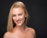 Tara Hutton poses for her headshot at Bay Pointe Ballet in South San Francisco, California, on September 21, 2015. (Stan Olszewski/SOSKIphoto)