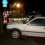 Ongeval Crailoseweg - Nw. Bussummerweg Huizen, takel Dorresteijn