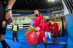 Ricardinho of Portugal during futsal match between Portugal and Azerbaijan in Quaterfinals of UEFA Futsal EURO 2018, on February 6, 2018 in Arena Stozice, Ljubljana, Slovenia. Photo by Ziga Zupan / Sportida