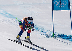 February 17, 2018 - PyeongChang, South Korea - ANIA MONICA CAILL of Romania during Alpine Skiing: Ladies Super-G at Jeongseon Alpine Centre at the 2018 Pyeongchang Winter Olympic Games. (Credit Image: © Patrice Lapointe via ZUMA Wire)