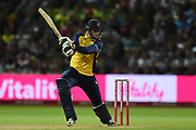 Paul Walter of Essex Eagles batting during the Vitality T20 Finals Day 2019 match between Worcestershire County Cricket Club and Essex County Cricket Club at Edgbaston, Birmingham, United Kingdom on 21 September 2019.