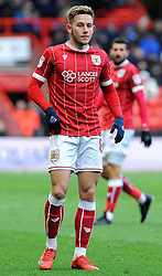 Josh Brownhill of Bristol City  - Mandatory by-line: Nizaam Jones/JMP - 17/03/2018 - FOOTBALL - Ashton Gate Stadium- Bristol, England - Bristol City v Ipswich Town - Sky Bet Championship